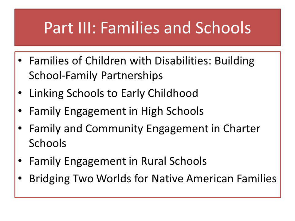 Family Engagement in High Schools Mavis Sanders Adolescents' success in high school is enhanced by home-based family engagement and communication practices.