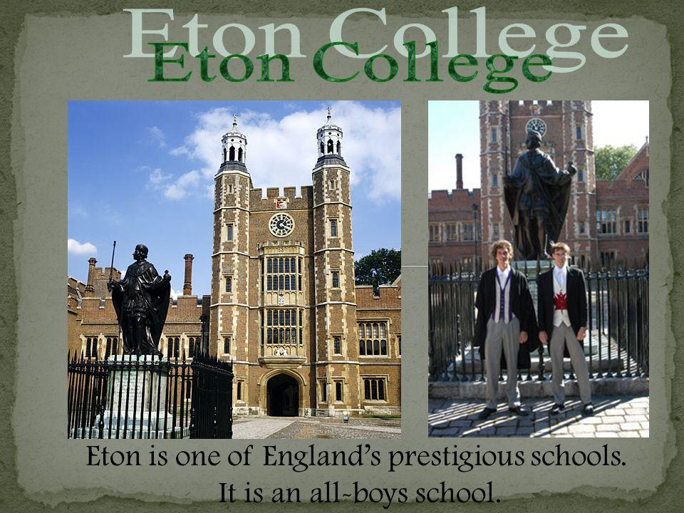 A model of Eton College