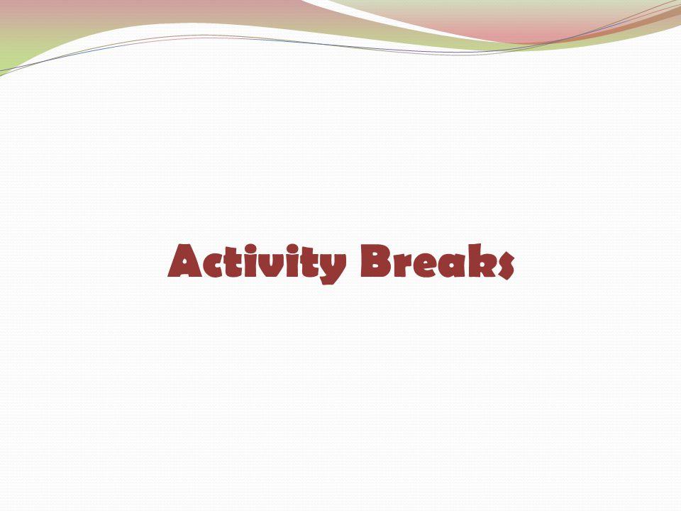 Activity Breaks