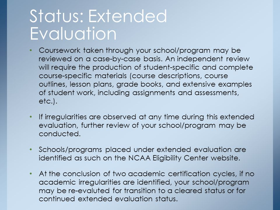 Coursework taken through your school/program may be reviewed on a case-by-case basis.