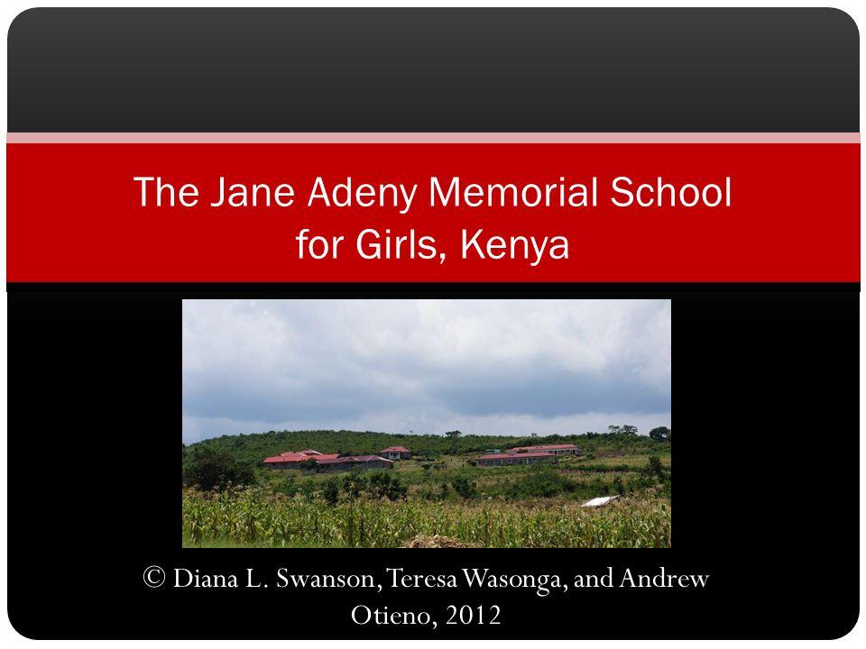 This presentation is dedicated to the future of Kenya and with joy in the Nobel Laureates of 2012 Leymah GboweeEllen Johnson Sirleaf Tawakkul Karman