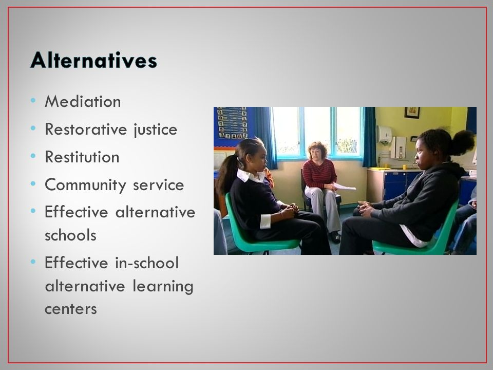 Student support teams Mentoring & counseling Social work services Substance abuse intervention Personal Education Plans Effective IEPs for students with disabilities