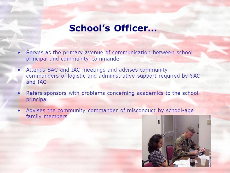 School's Officer...