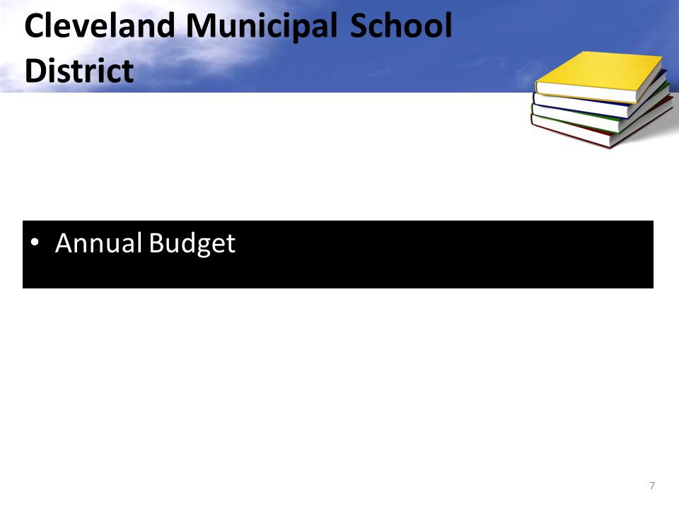 Annual Budget 7