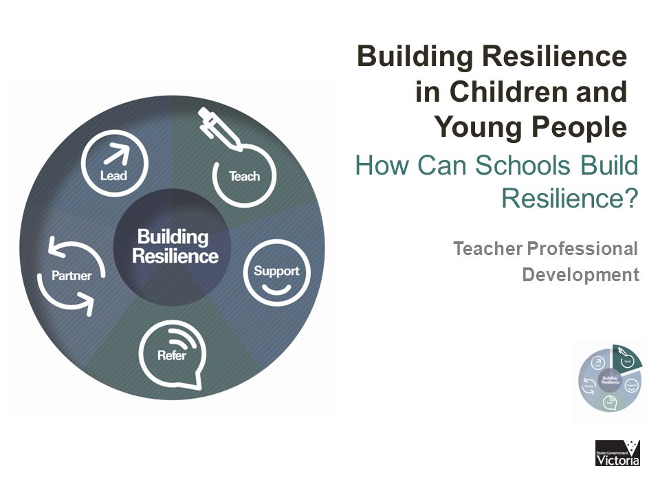 How Can Schools Build Resilience.