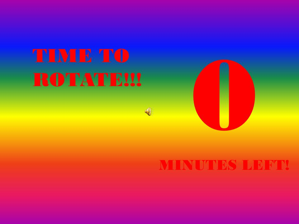1 MINUTES LEFT