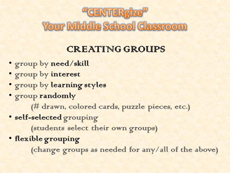 The primary objective of a learning center model is to meet with students one-on-one and in small groups in order to provide remediation of skills and concepts covered in class.