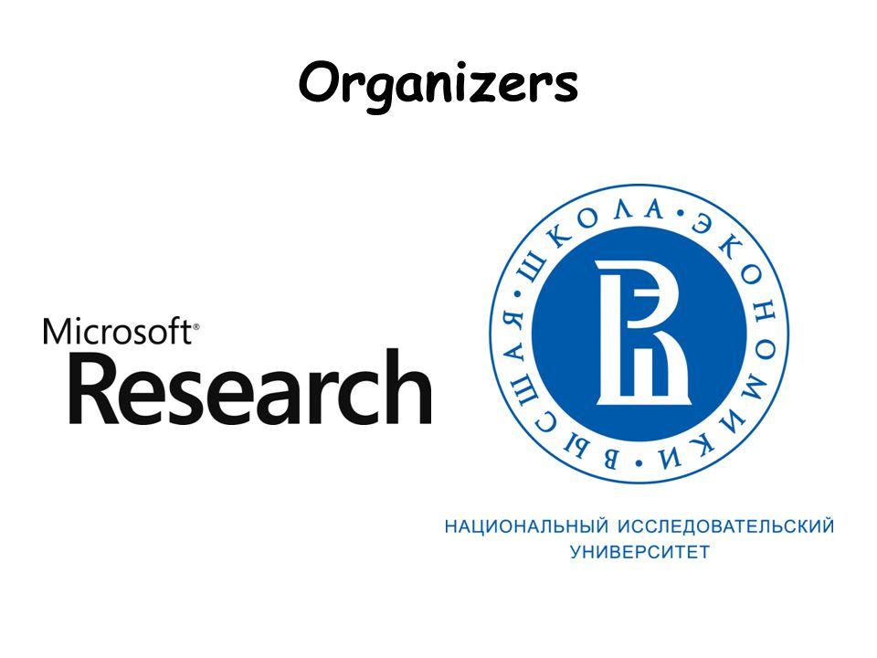 Local Organizers Dr.Jennifer Trelewicz: Microsoft, Russia Core local organizer Dr.