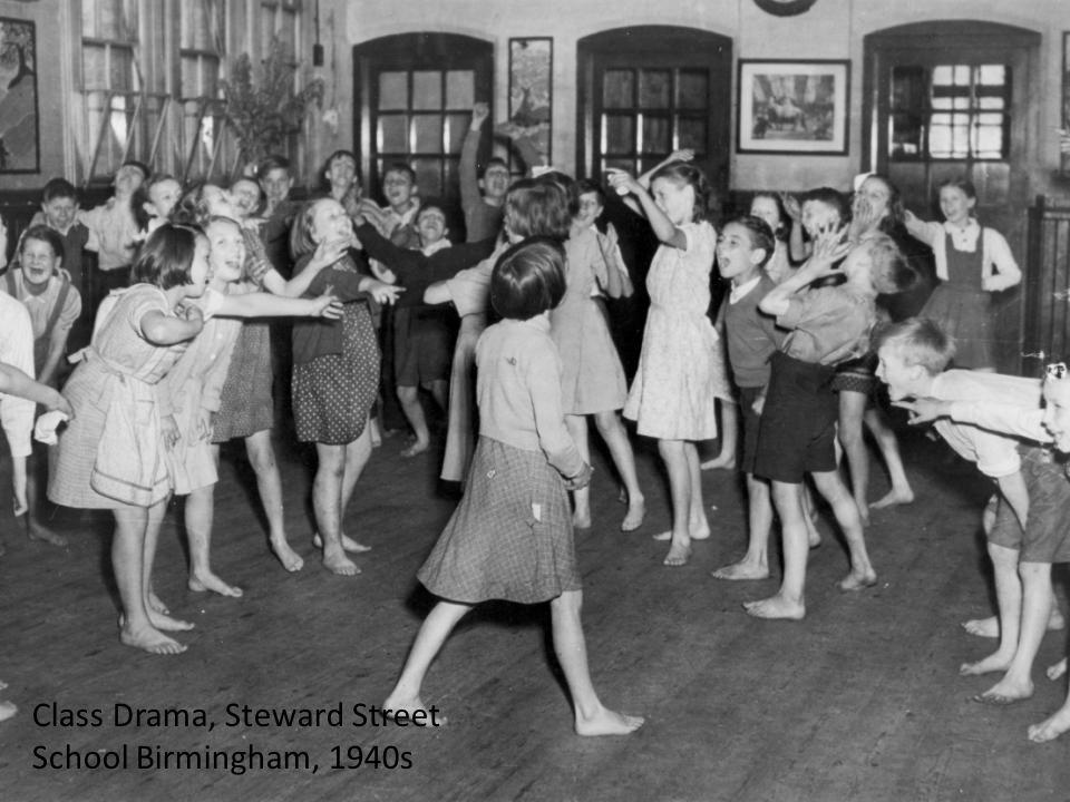 Class Drama, Steward Street School Birmingham, 1940s