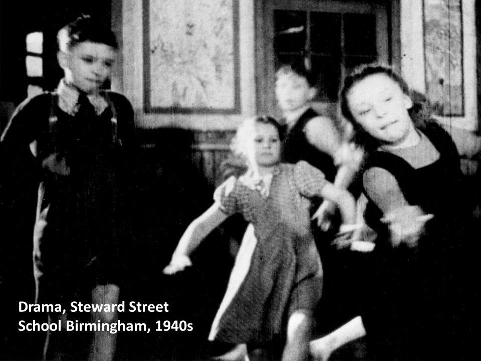 Drama, Steward Street School Birmingham, 1940s