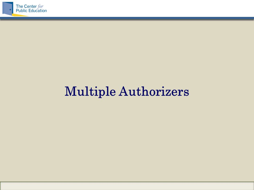 Multiple Authorizers
