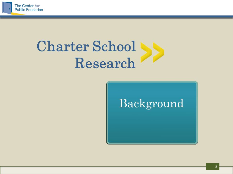 Charter School Research Background 3