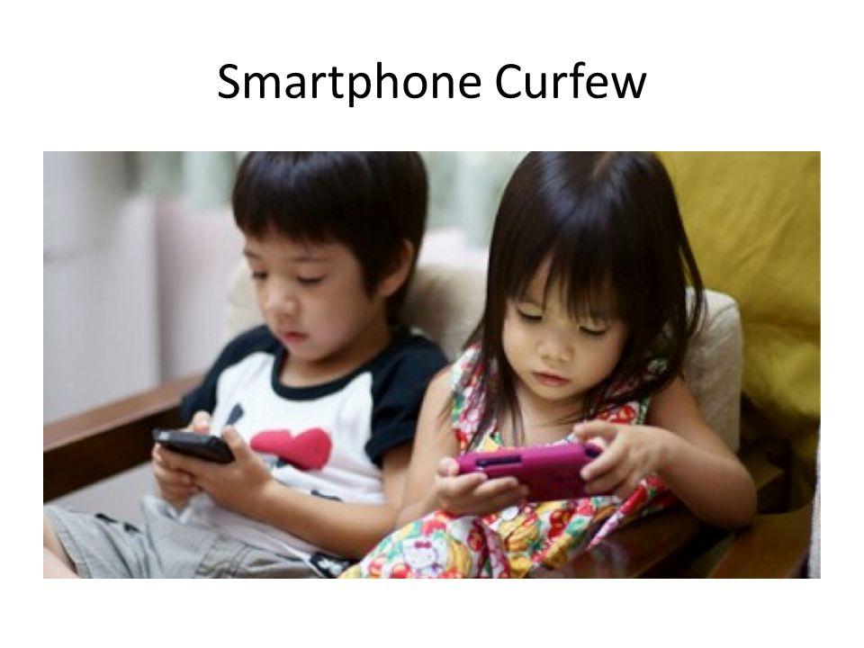 Smartphone Curfew