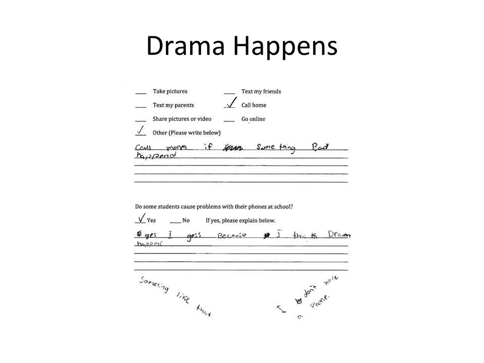 Drama Happens