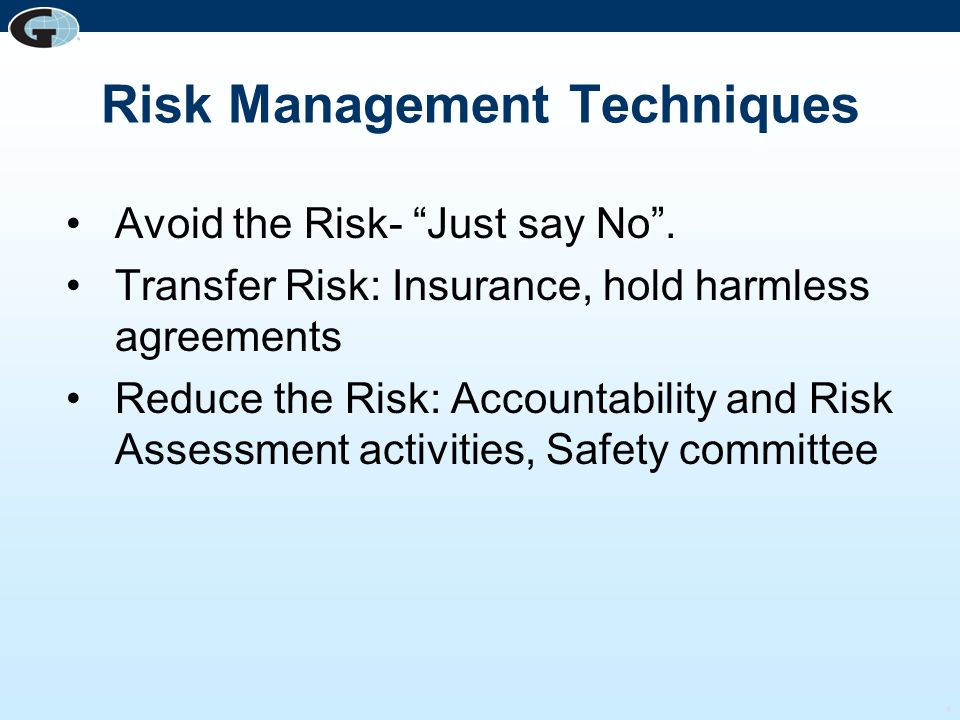5 What are your Schools Top 10 Risks?