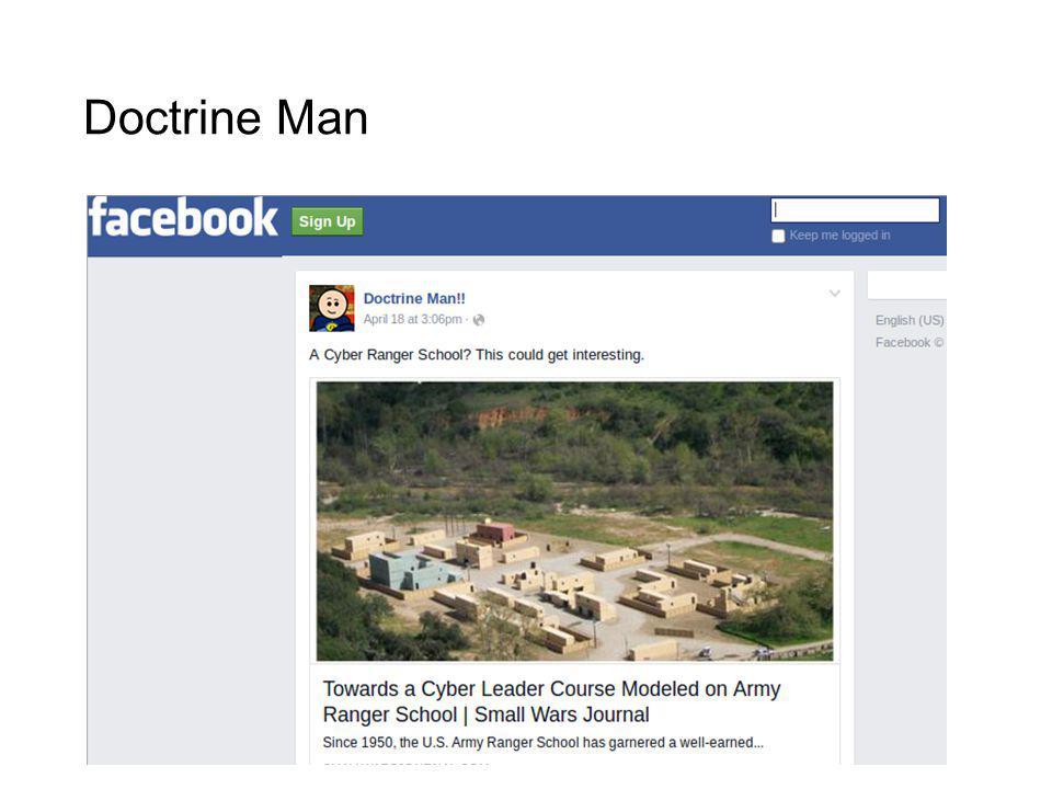 Doctrine Man
