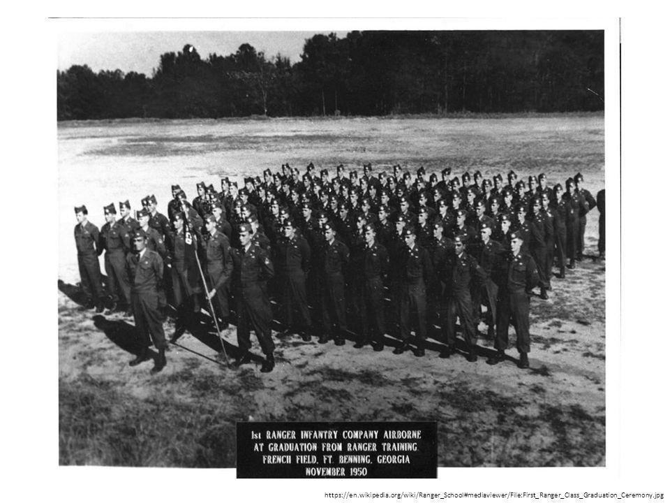 https://en.wikipedia.org/wiki/Ranger_School#mediaviewer/File:First_Ranger_Class_Graduation_Ceremony.jpg