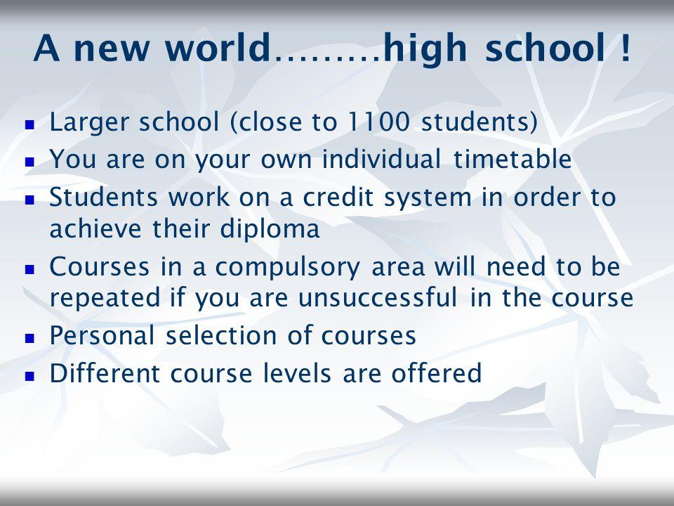 The Ontario Secondary School Diploma O.S.S.D.