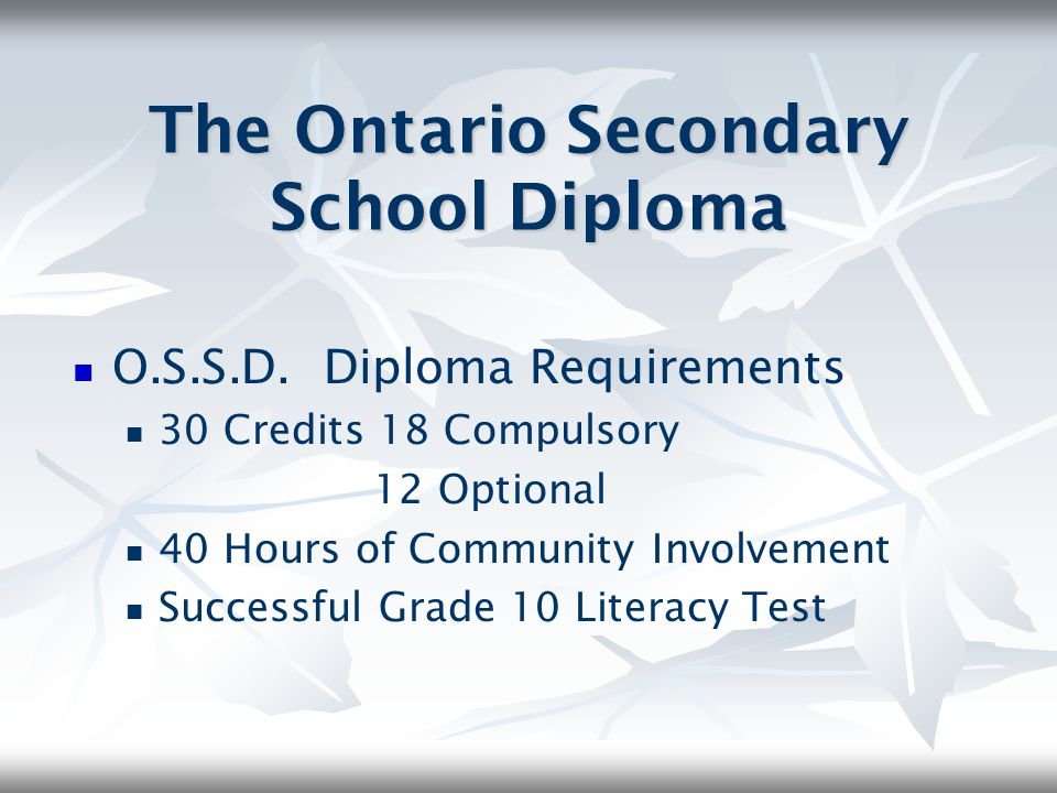 Grade 9 Mathematics Assessment NOT a diploma requirement Evaluates achievement of your grade 9 math skills Administered near the end of your grade 9 mathematics course and used as part of your final course evaluation