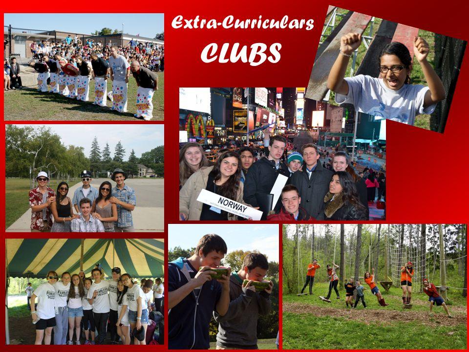 CLUBS Extra-Curriculars