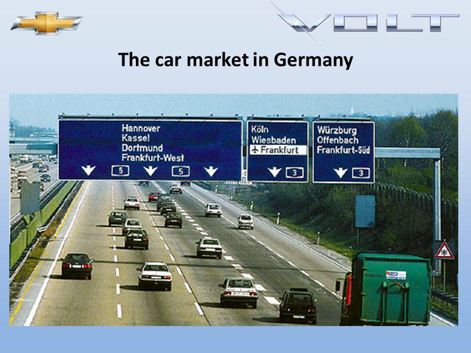 New car registrations in Germany – development 2005-2009