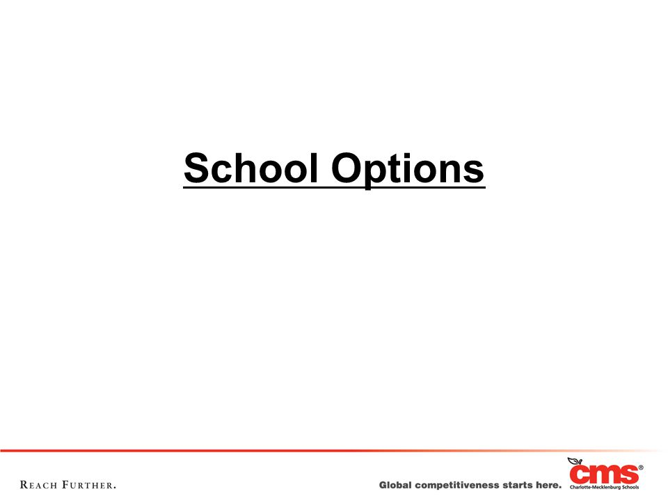School Options