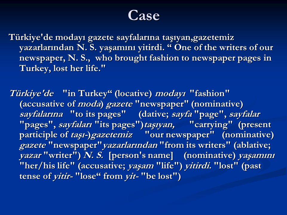 """Case Türkiye'de modayı gazete sayfalarına taşıyan,gazetemiz yazarlarından N. S. yaşamını yitirdi. """" One of the writers of our newspaper, N. S., who br"""