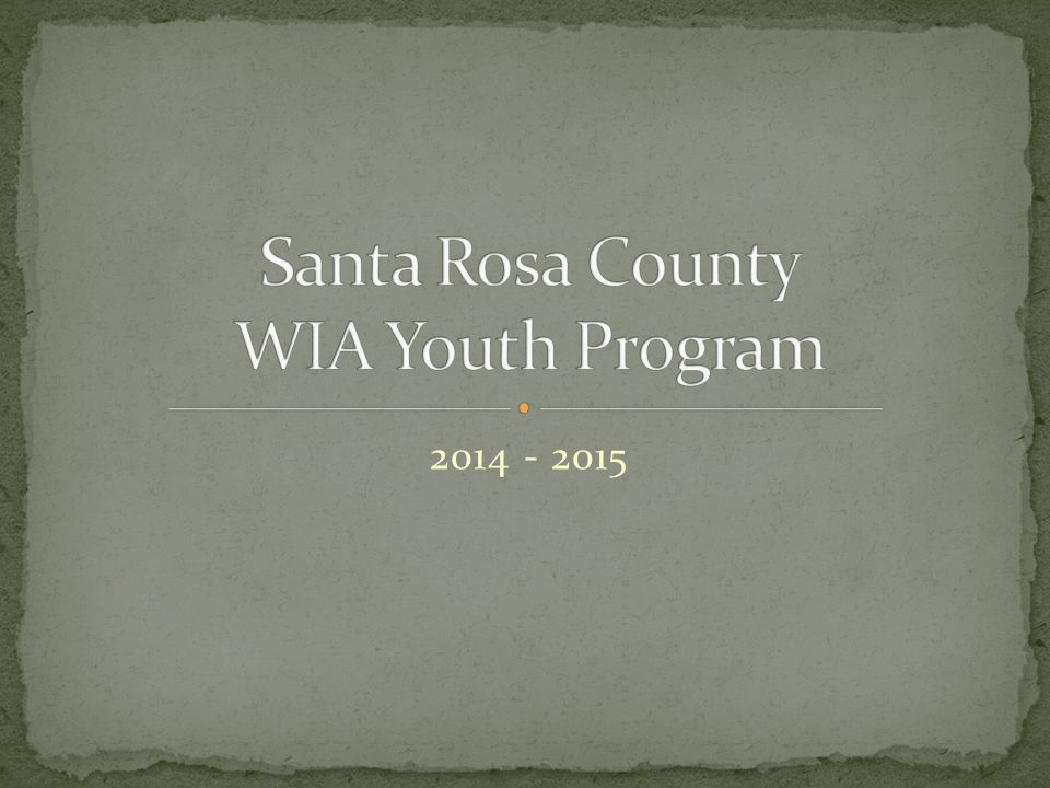 2014 - 2015