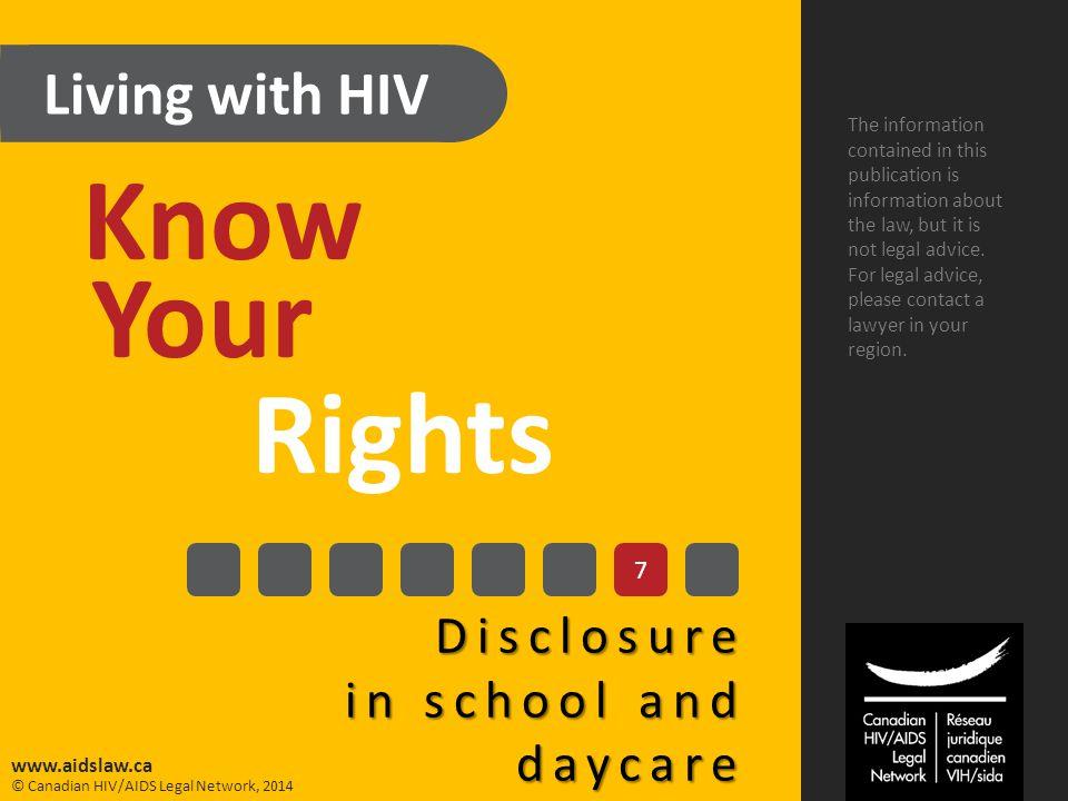 © Canadian HIV/AIDS Legal Network, 2014 www.aidslaw.ca 1.