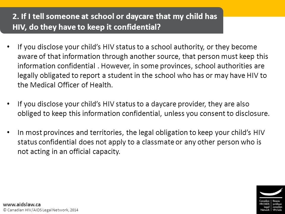© Canadian HIV/AIDS Legal Network, 2014 www.aidslaw.ca 2.