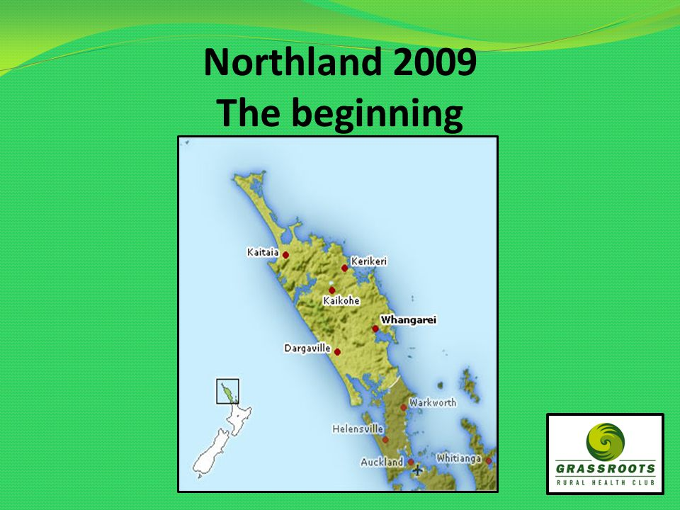 Northland 2009 The beginning