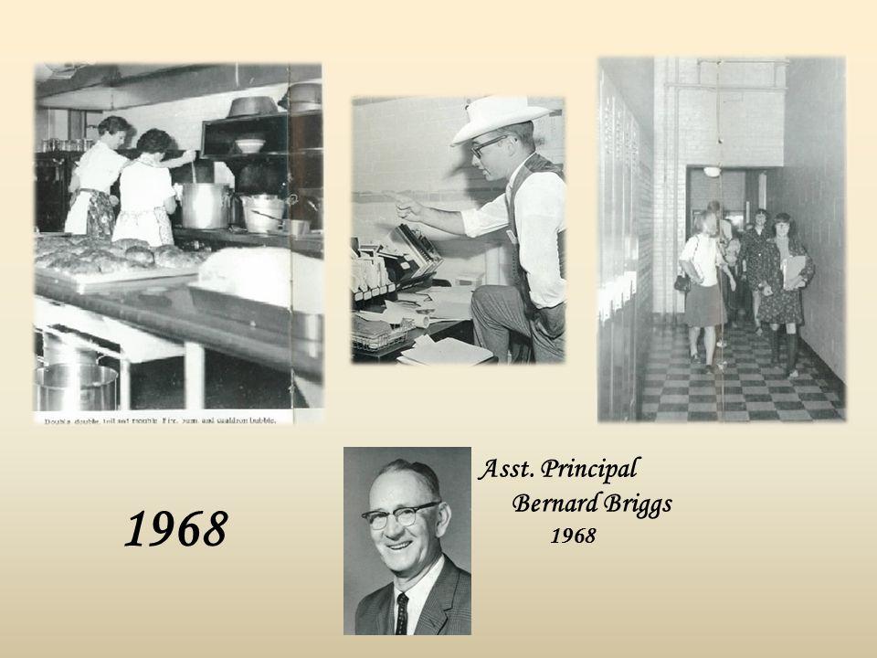 1968 Asst. Principal Bernard Briggs 1968
