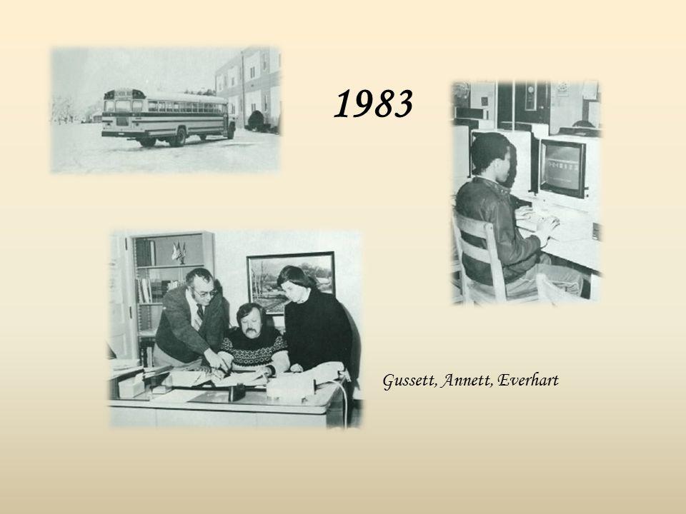 1983 Gussett, Annett, Everhart