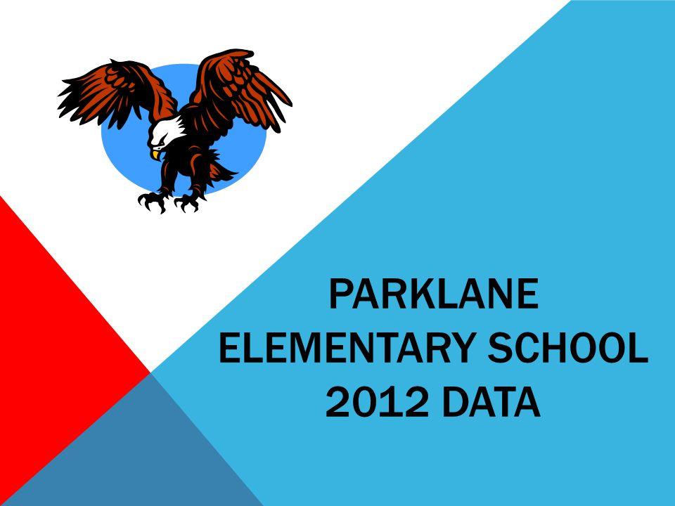 PARKLANE ELEMENTARY SCHOOL 2012 DATA
