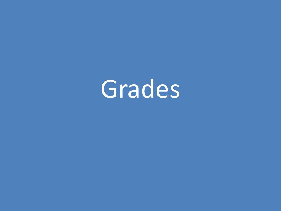 High SchoolCollege Grades are given for most, if not all, assigned work.