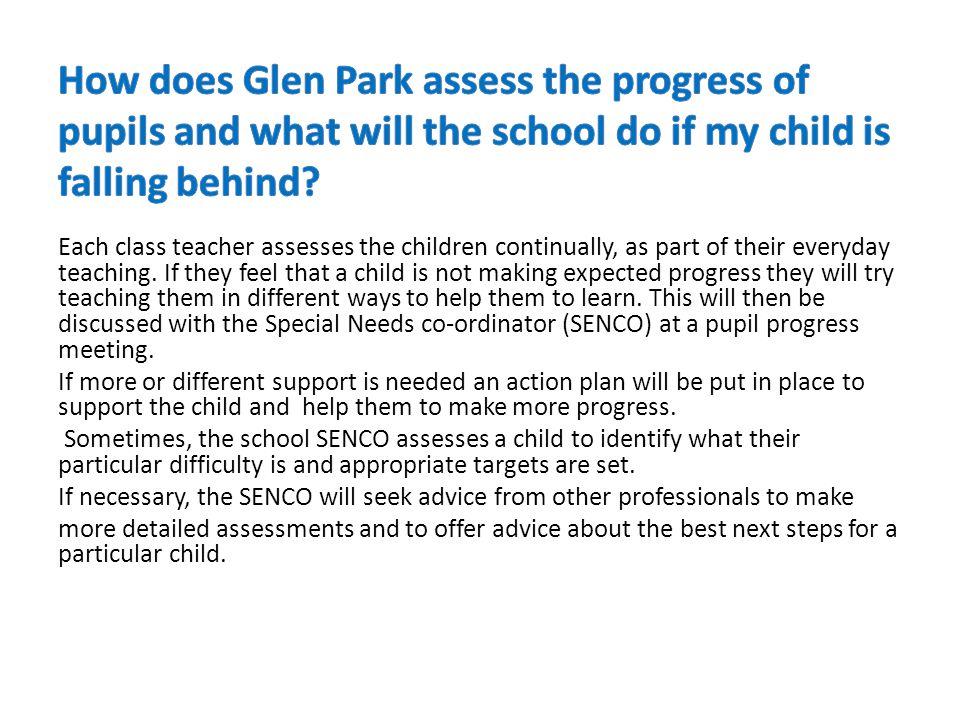 Glen Park currently has 373 pupils.