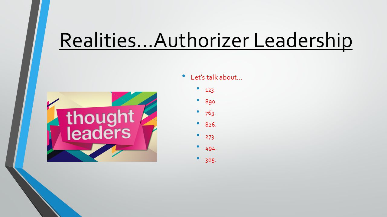 A Fast Information Selfie Question #5 In which area of charter leadership are you LEAST knowledgeable.