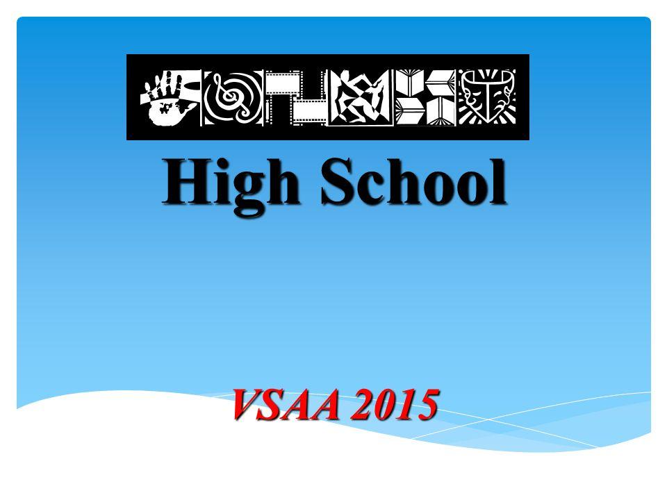 High School VSAA 2015