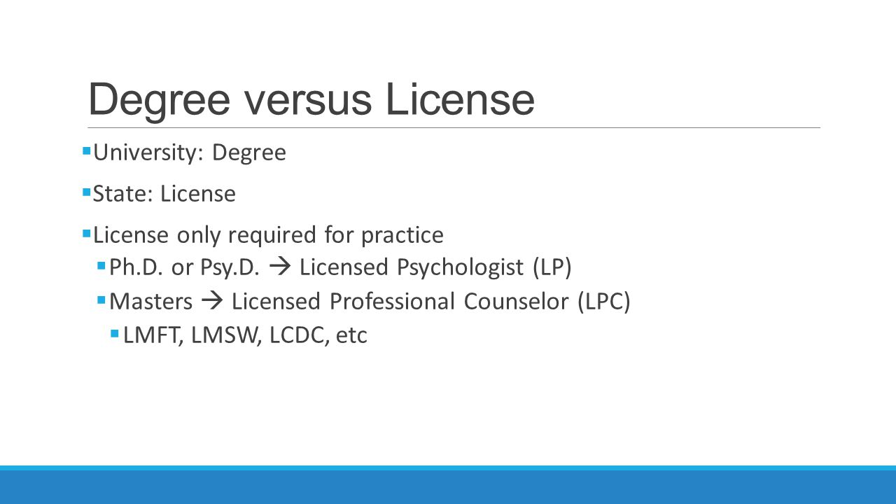 Which Type of Graduate Degree MASTERS  M.S.  M.A.  M.ED. DOCTORAL  Psy.D.  Ph.D.