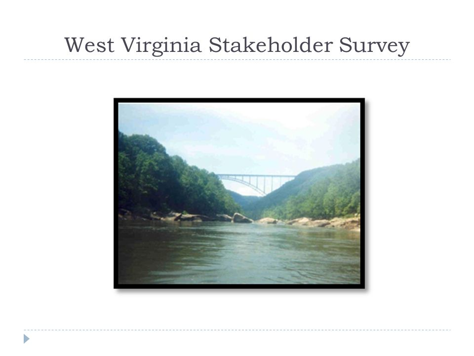 West Virginia Stakeholder Survey