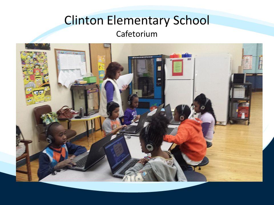 Clinton Elementary School 2 nd Floor Hallway
