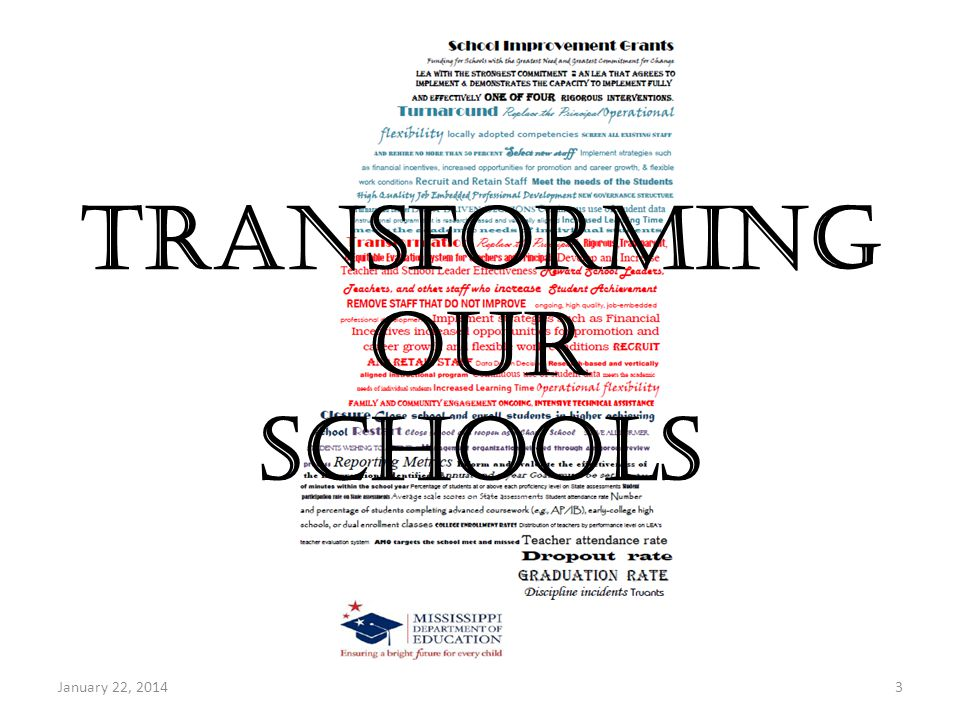 The Bottom Line for the District clear, transparent, timely, and unwavering.