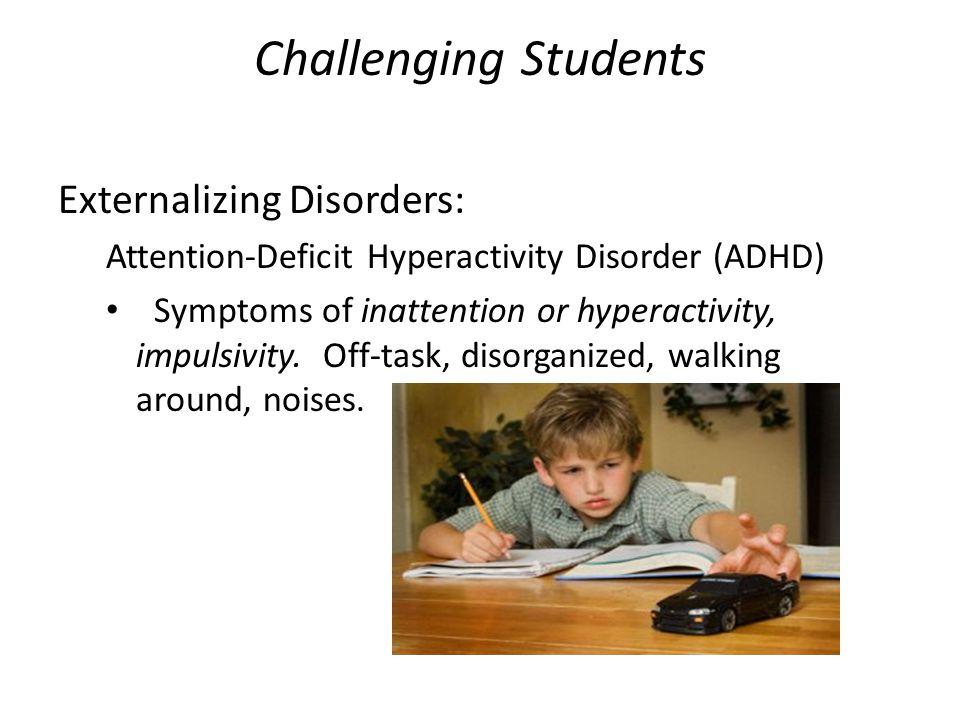 Oppositional Defiant Disorder (ODD)  A pattern of negativistic, hostile, and defiant behavior.