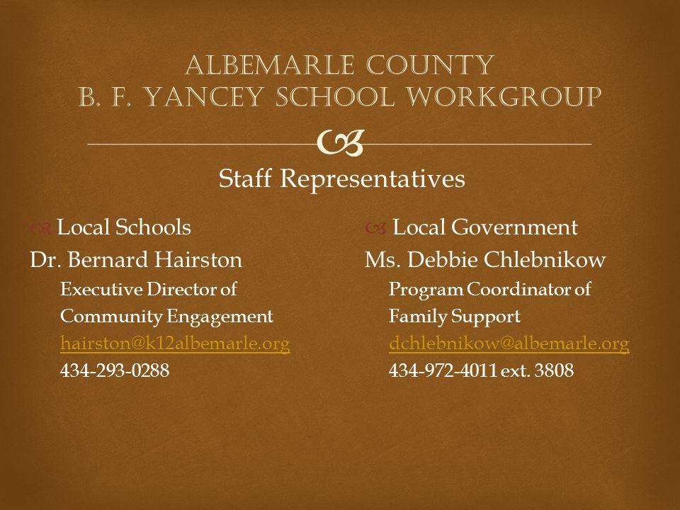   Local Schools Dr.