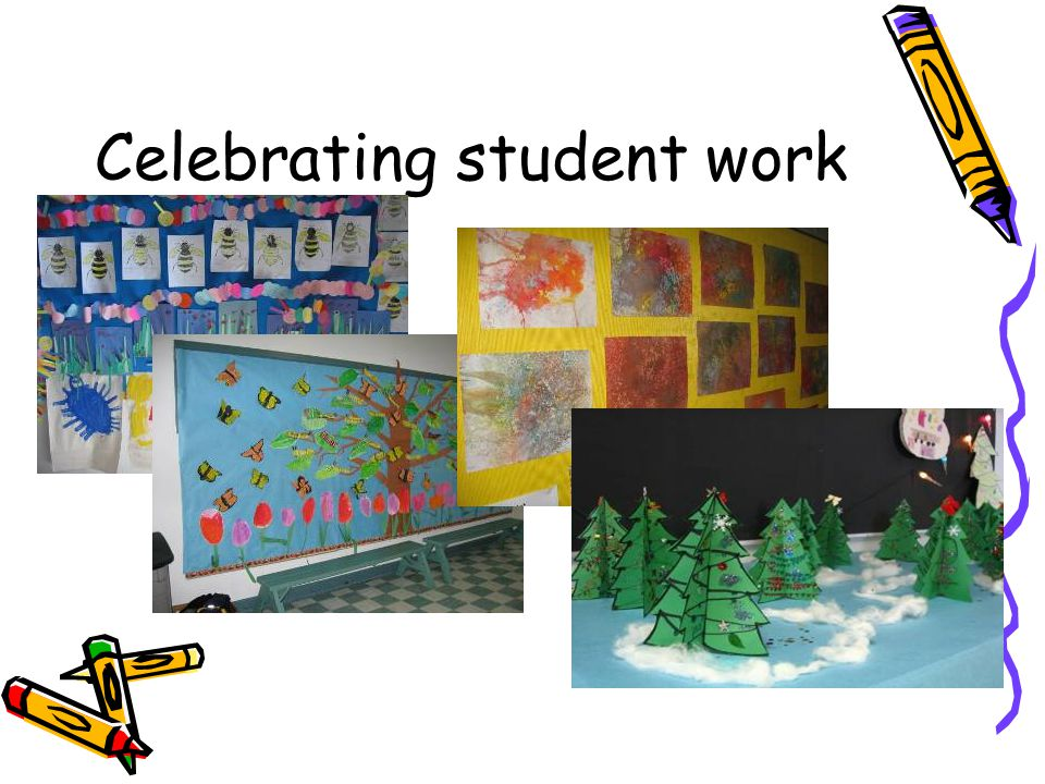 Celebrating student work