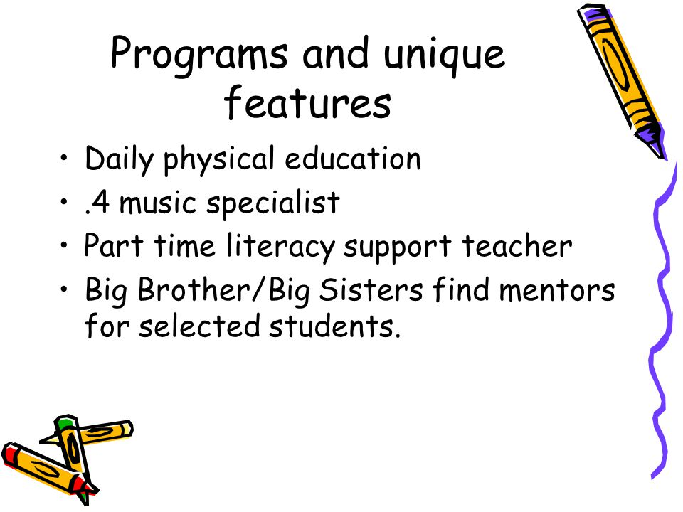 How you help our students.Support public education.
