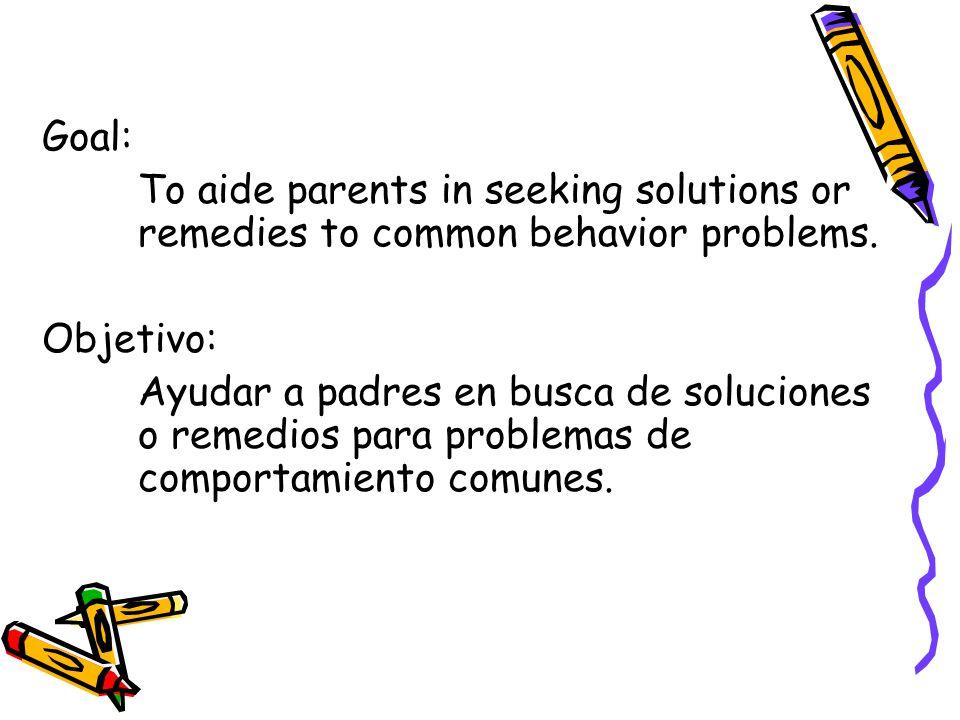Common behavior problems found at elementary/intermediate schools.