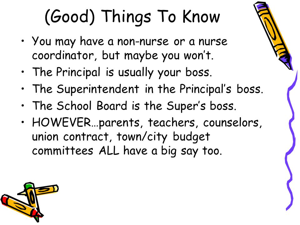 (Good) Things To Know You may have a non-nurse or a nurse coordinator, but maybe you won't.