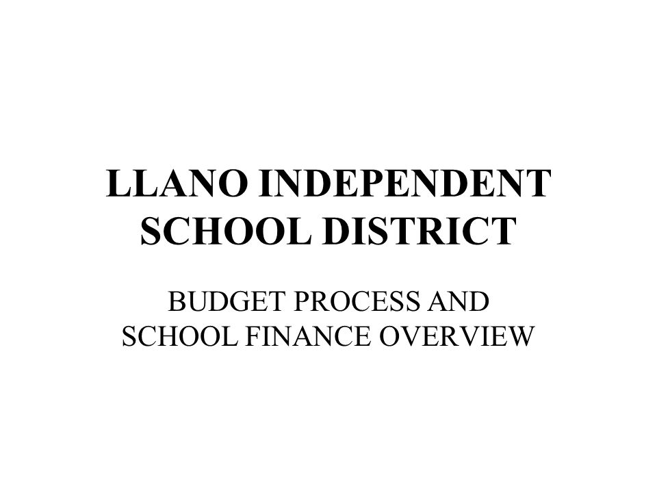 Llano ISD – School Finance In this table, Llano, Austin and Lake Travis are considered Property Wealthy and are subject to recapture.