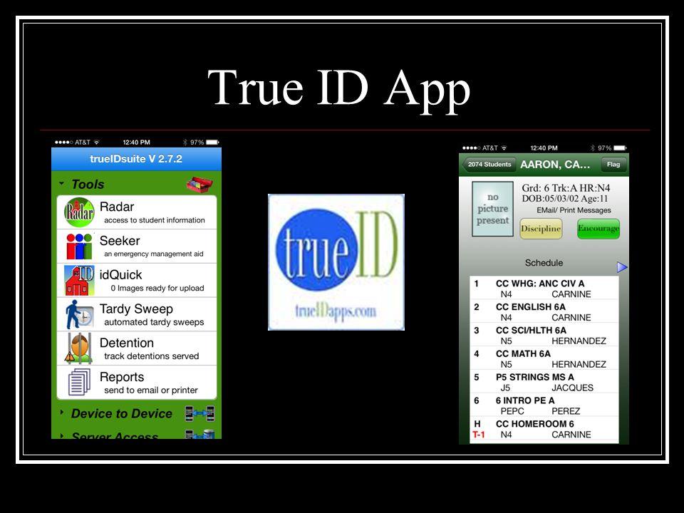 True ID App